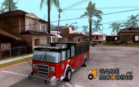 Pierce SFFD Rescue для GTA San Andreas