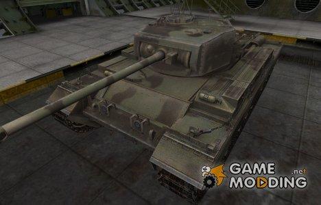Пустынный скин для Caernarvon for World of Tanks