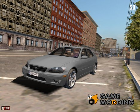Lexus IS300 for Mafia: The City of Lost Heaven