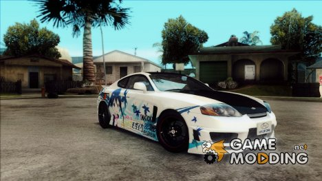 Hyundai Tiburon V6 Coupe Aya Itasha for GTA San Andreas