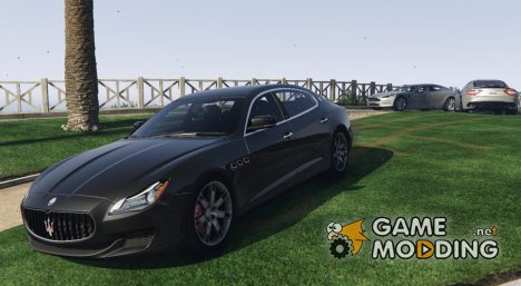 2013 Maserati Quattroporte GTs 1.0 for GTA 5