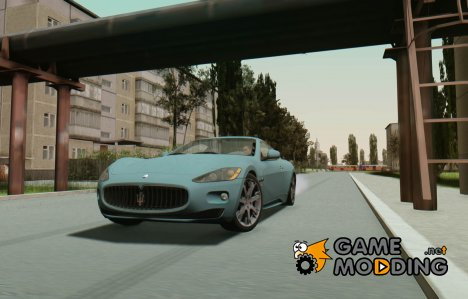 Maserati Gran Turismo S 2011 for GTA San Andreas