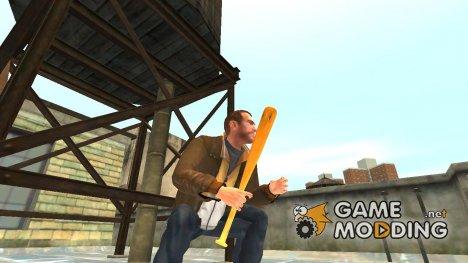 Бейсбольная бита для GTA 4
