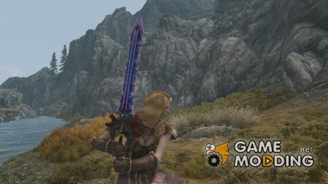 Gizmodians FF7 Ultima Blade Skyrim Version для TES V Skyrim