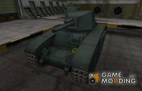 Качественные зоны пробития для BDR G1B for World of Tanks