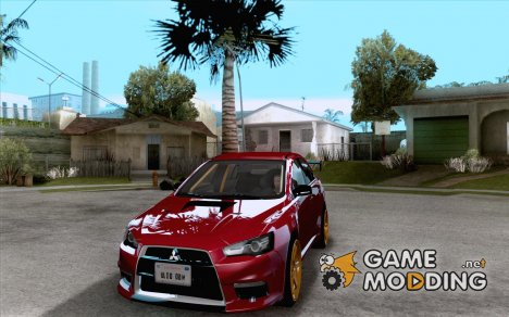 Mitsubishi Lancer Evo X Tuned for GTA San Andreas