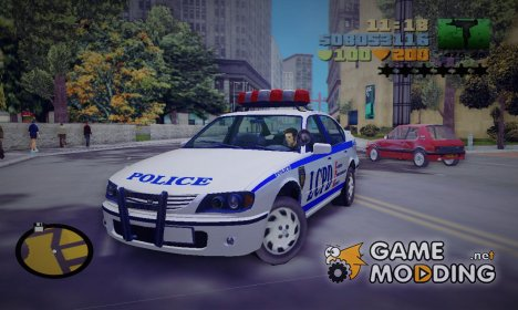GTA 4 Police Patrol for GTA 3