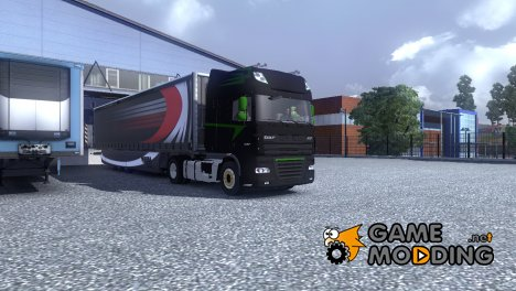 DAF XF 105 матовый for Euro Truck Simulator 2