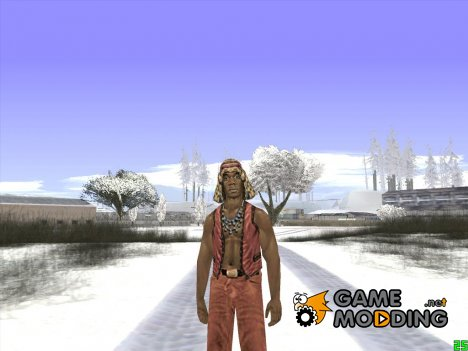 The Warriors Cleon для GTA San Andreas