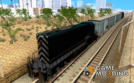 San Andreas Beta Train Mod для GTA San Andreas