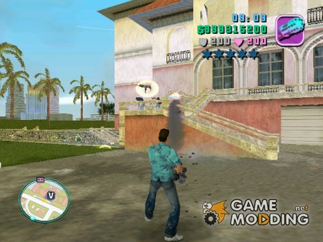Hud mod для GTA Vice City