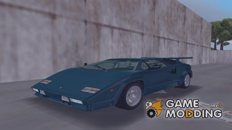 Lamborghini Countach LP500 Quattrovalvole 1988 for GTA 3