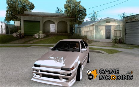 Toyota Corolla AE86 tuned for GTA San Andreas