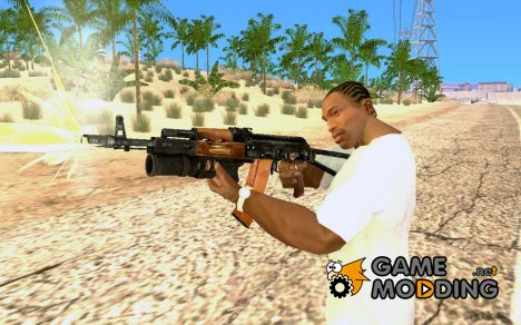 AK-74 with PG-30 for GTA San Andreas