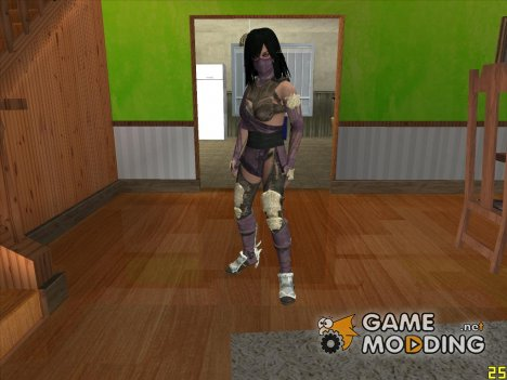 Mileena for GTA San Andreas