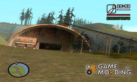 Зона отчуждения для GTA San Andreas
