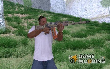 АК-74М из Metro 2033 for GTA San Andreas