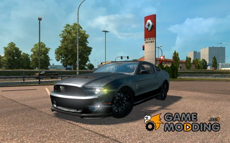 Shelby GT500 for Euro Truck Simulator 2