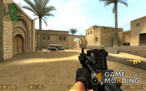Colt M4A1 RIS для Counter-Strike Source