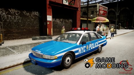 Chevrolet Caprice 1991 NYPD for GTA 4