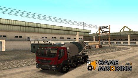 Iveco Trakker Hi-Land E6 2018 бетономешалка for GTA San Andreas