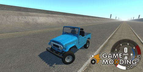Toyota Land Cruiser J40 1980 for BeamNG.Drive