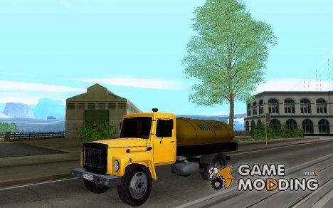 ГАЗ 3309 Молоковоз for GTA San Andreas