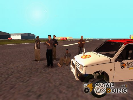 Обычный день из жизни сайта gamemodding.net 2 for GTA San Andreas