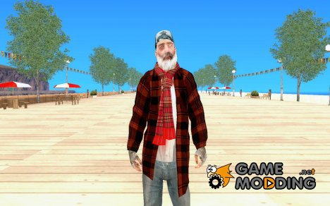 Скин обывателя for GTA San Andreas