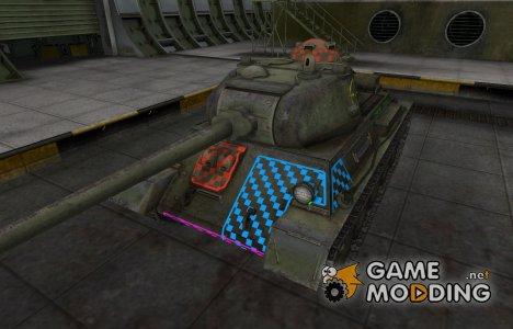 Качественные зоны пробития для Т-43 для World of Tanks