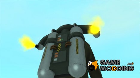 New SA Jetpack by DooM G для GTA San Andreas