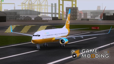 Boeing 737-800 Orbit Airlines для GTA San Andreas