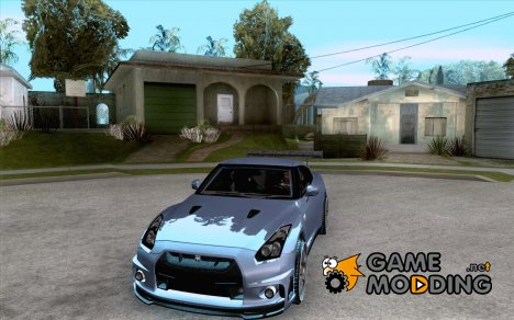 Nissan GT-R R35 for GTA San Andreas