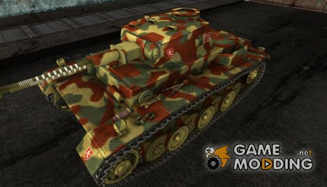 VK3001 (H) Patched Camouflage Early 1945 для World of Tanks
