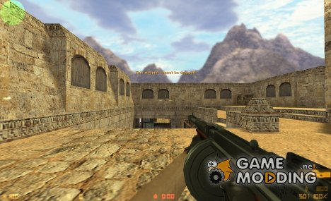 P90 Tommy Gun for Counter-Strike 1.6