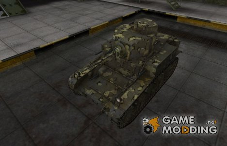 Простой скин M3 Stuart для World of Tanks