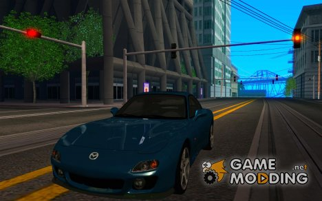 Mazda RX-7 - Stock for GTA San Andreas