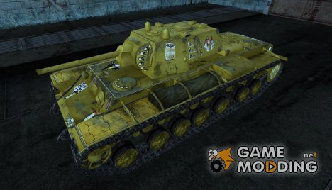 Шкурка для КВ-220 (Вархммер) for World of Tanks