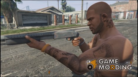Mossberg 500 Grey (Long) for GTA 5