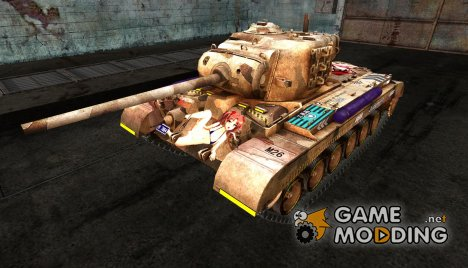 Аниме шкурка для M26 Pershing для World of Tanks
