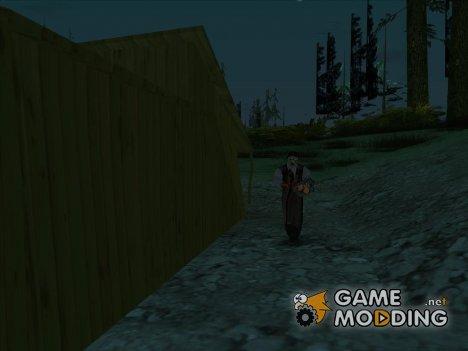 Кожаное Лицо для GTA San Andreas