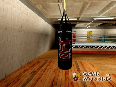 UFC Boxing Bag for GTA San Andreas
