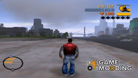 Новая одежда для Клода for GTA 3