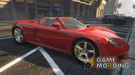 Porsche Carrera GT 3.0 for GTA 5