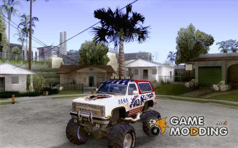 Chevrolet Blazer K5 Monster Skin 7 для GTA San Andreas