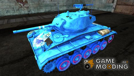 Аниме шкурка для M24 Chaffee для World of Tanks