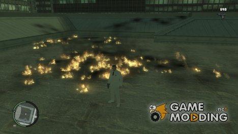 Огненные пули для GTA 4