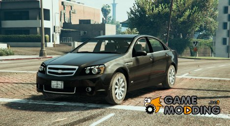 2014 Chevrolet Caprice LS (Arabic Badges) для GTA 5