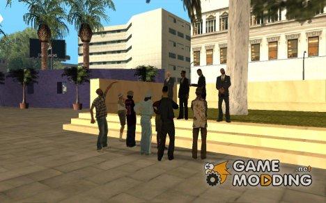 Обращение мэра к жителям штата v 1.0 for GTA San Andreas
