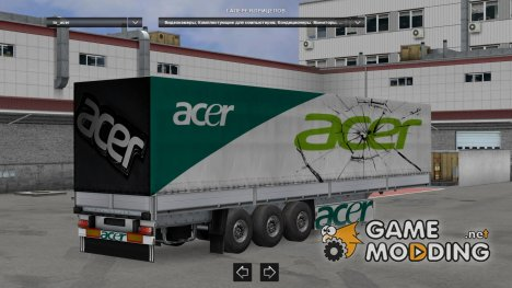 Trailer Pack Brands Computer and Home Technics v3.0 для Euro Truck Simulator 2